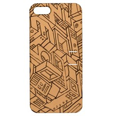 Mechanical Tech Pattern Apple iPhone 5 Hardshell Case with Stand