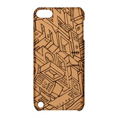 Mechanical Tech Pattern Apple Ipod Touch 5 Hardshell Case With Stand