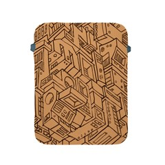 Mechanical Tech Pattern Apple iPad 2/3/4 Protective Soft Cases