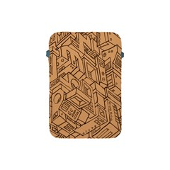 Mechanical Tech Pattern Apple Ipad Mini Protective Soft Cases