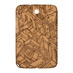 Mechanical Tech Pattern Samsung Galaxy Note 8.0 N5100 Hardshell Case