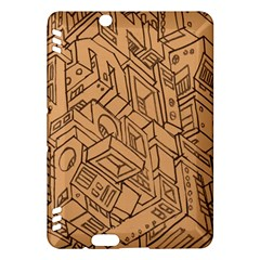 Mechanical Tech Pattern Kindle Fire HDX Hardshell Case