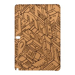 Mechanical Tech Pattern Samsung Galaxy Tab Pro 12.2 Hardshell Case