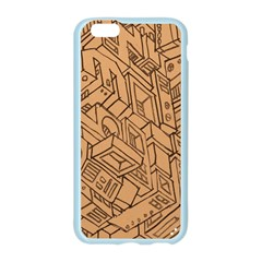 Mechanical Tech Pattern Apple Seamless iPhone 6/6S Case (Color)