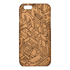 Mechanical Tech Pattern iPhone 6/6S TPU Case
