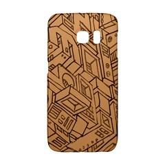 Mechanical Tech Pattern Galaxy S6 Edge