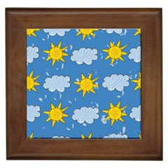 Sunshine Tech Blue Framed Tiles