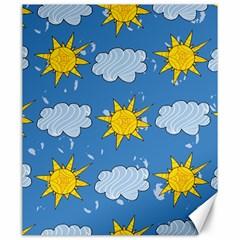 Sunshine Tech Blue Canvas 20  x 24