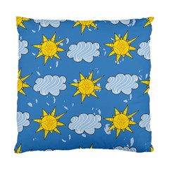 Sunshine Tech Blue Standard Cushion Case (two Sides)