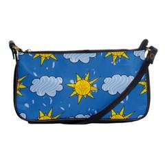 Sunshine Tech Blue Shoulder Clutch Bags