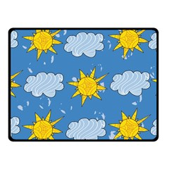 Sunshine Tech Blue Fleece Blanket (small)