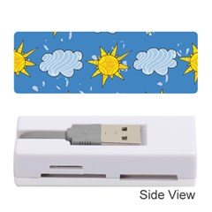 Sunshine Tech Blue Memory Card Reader (stick)