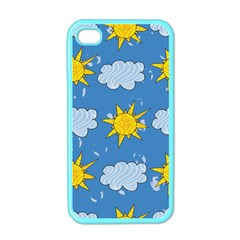 Sunshine Tech Blue Apple iPhone 4 Case (Color)