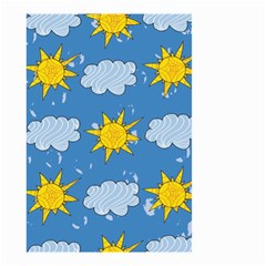 Sunshine Tech Blue Small Garden Flag (Two Sides)
