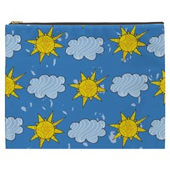 Sunshine Tech Blue Cosmetic Bag (XXXL)