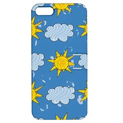 Sunshine Tech Blue Apple iPhone 5 Hardshell Case with Stand