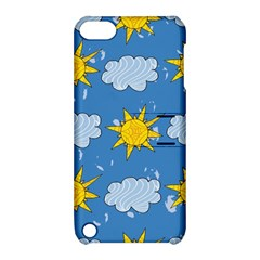 Sunshine Tech Blue Apple Ipod Touch 5 Hardshell Case With Stand