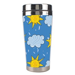 Sunshine Tech Blue Stainless Steel Travel Tumblers
