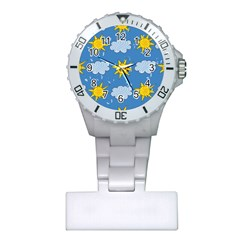 Sunshine Tech Blue Plastic Nurses Watch