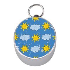 Sunshine Tech Blue Mini Silver Compasses