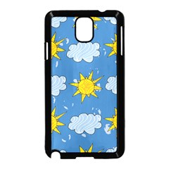 Sunshine Tech Blue Samsung Galaxy Note 3 Neo Hardshell Case (black)
