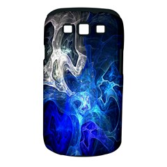 Ghost Fractal Texture Skull Ghostly White Blue Light Abstract Samsung Galaxy S Iii Classic Hardshell Case (pc+silicone)