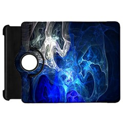Ghost Fractal Texture Skull Ghostly White Blue Light Abstract Kindle Fire HD 7