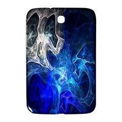 Ghost Fractal Texture Skull Ghostly White Blue Light Abstract Samsung Galaxy Note 8.0 N5100 Hardshell Case