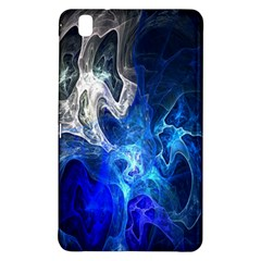 Ghost Fractal Texture Skull Ghostly White Blue Light Abstract Samsung Galaxy Tab Pro 8.4 Hardshell Case