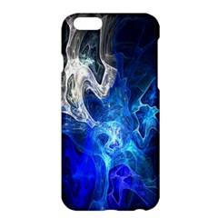 Ghost Fractal Texture Skull Ghostly White Blue Light Abstract Apple iPhone 6 Plus/6S Plus Hardshell Case