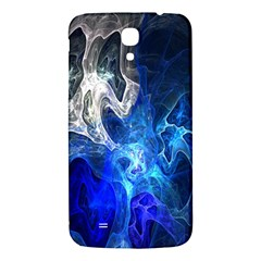 Ghost Fractal Texture Skull Ghostly White Blue Light Abstract Samsung Galaxy Mega I9200 Hardshell Back Case