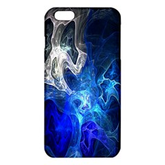Ghost Fractal Texture Skull Ghostly White Blue Light Abstract iPhone 6 Plus/6S Plus TPU Case