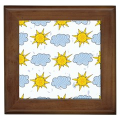 Sunshine Tech White Framed Tiles
