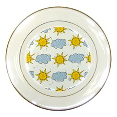 Sunshine Tech White Porcelain Plates