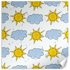 Sunshine Tech White Canvas 12  x 12