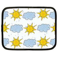 Sunshine Tech White Netbook Case (Large)