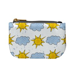 Sunshine Tech White Mini Coin Purses