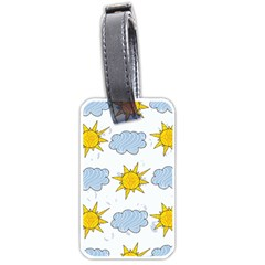 Sunshine Tech White Luggage Tags (two Sides)