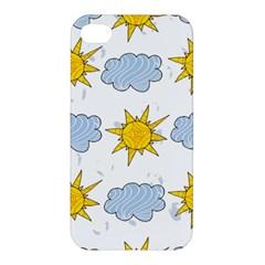 Sunshine Tech White Apple iPhone 4/4S Premium Hardshell Case