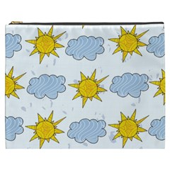 Sunshine Tech White Cosmetic Bag (XXXL)