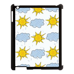 Sunshine Tech White Apple iPad 3/4 Case (Black)