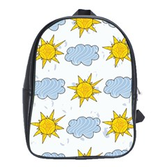 Sunshine Tech White School Bags (XL)