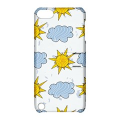 Sunshine Tech White Apple iPod Touch 5 Hardshell Case with Stand