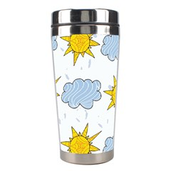 Sunshine Tech White Stainless Steel Travel Tumblers