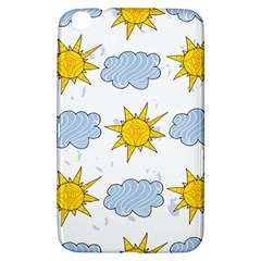 Sunshine Tech White Samsung Galaxy Tab 3 (8 ) T3100 Hardshell Case