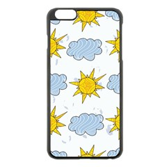 Sunshine Tech White Apple iPhone 6 Plus/6S Plus Black Enamel Case