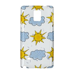 Sunshine Tech White Samsung Galaxy Note 4 Hardshell Case