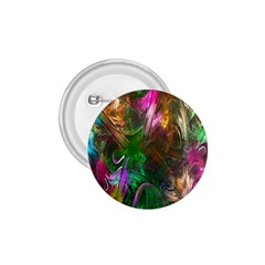 Fractal Texture Abstract Messy Light Color Swirl Bright 1.75  Buttons