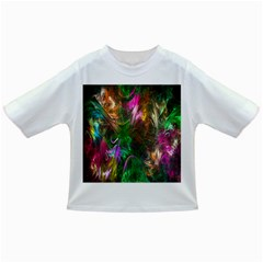 Fractal Texture Abstract Messy Light Color Swirl Bright Infant/Toddler T-Shirts