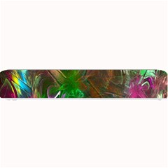 Fractal Texture Abstract Messy Light Color Swirl Bright Small Bar Mats